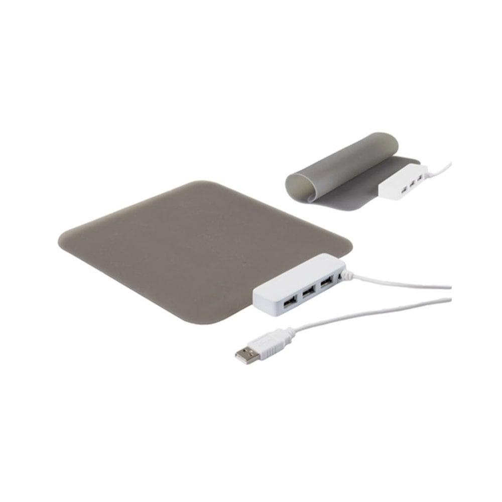 Micey - Podkładka pod mysz z 3 portami USB