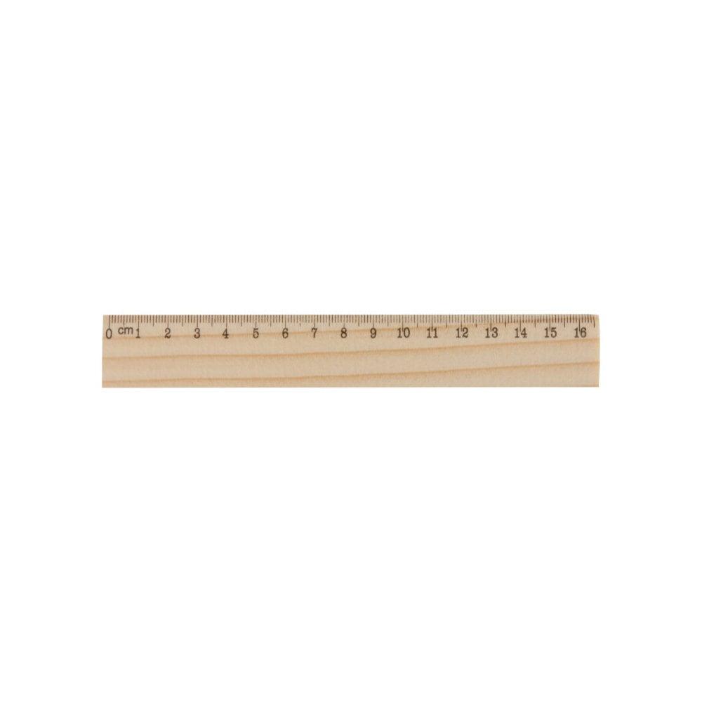 OneSix - linijka z drewna sosnowego