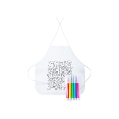 Tizy - fartuch do kolorowania
