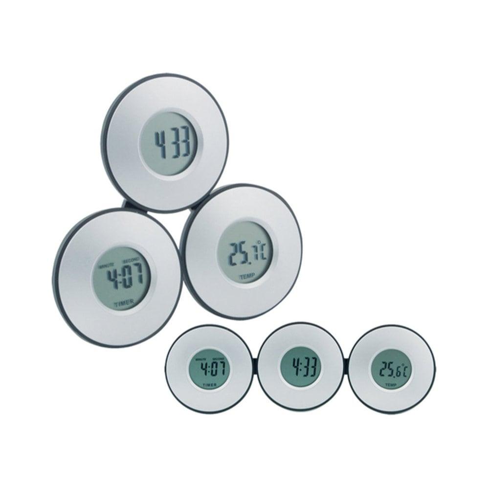 Tri - zegar z termometrem