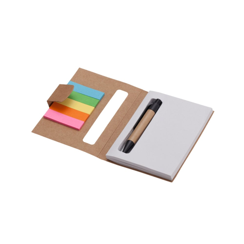 Notes 80x110/100k gładki Mini z długopisem