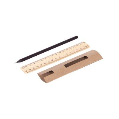 Ołówek z linijką - zestaw Simple